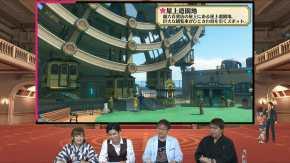 Project Sakura Wars Location Visual - Rooftop Amusement Park