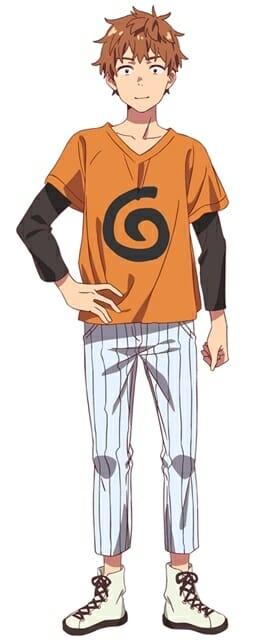 Rent-A-Girlfriend Anime Character Visual - Kazuya Kinoshita