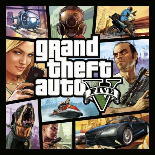 Grand Theft Auto V Box Art