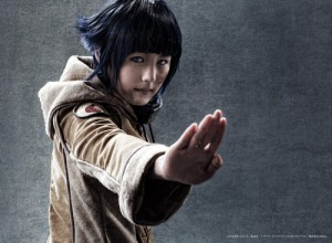 Saki Takahashi as Hinata Hyūga