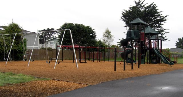 The playground where the incident allegedly took place