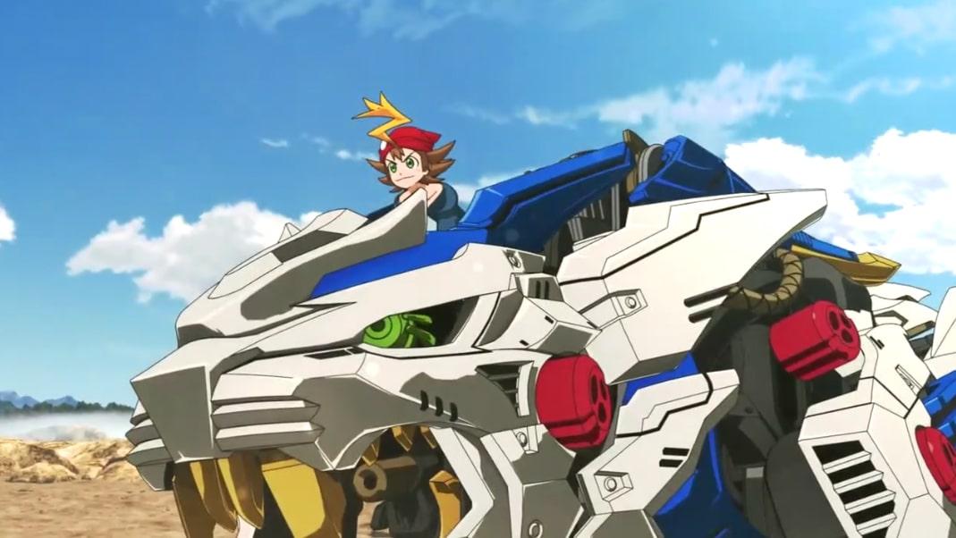 zoids wild spielzeugmodelle inspirieren neuen anime animenachrichten