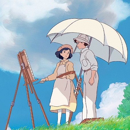 Cute Boy And Girl Cartoon Wallpaper The Wind Rises Movie Anime News Network
