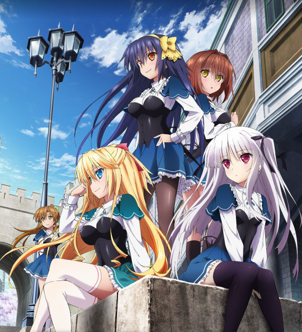 Absolute Duo 12/12 [HD 720p - 1080p] [Mega]