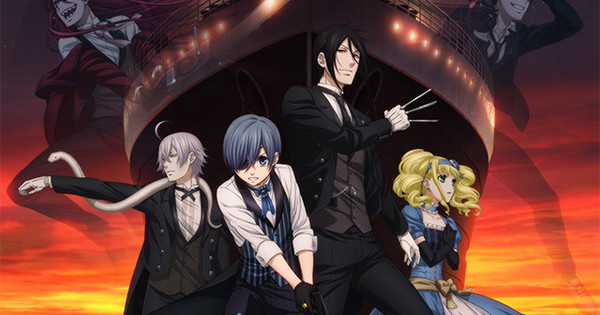 Account Wallpaper For 11 Girls Black Butler Book Of The Atlantic Film S 2nd Promo
