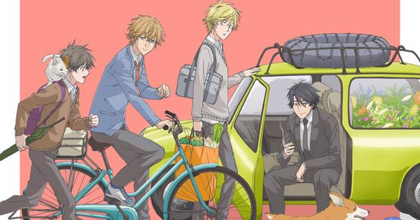 Hitorijime My Hero TV Anime Reveals Visual Image Video