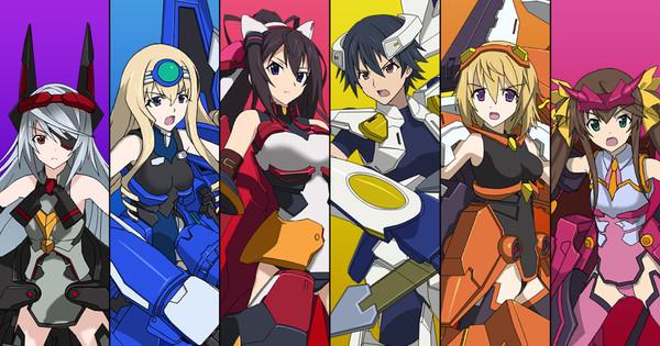 3d Broken Hearts Wallpaper Infinite Stratos Anime Gets 3d Action Pc Game News