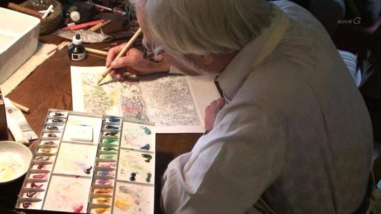 Resultado de imagem para sketches Hayao Miyazaki