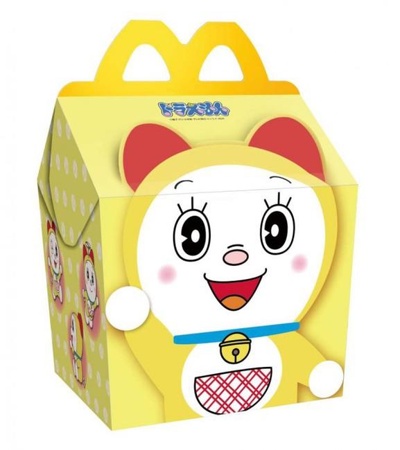 McDonalds Nhật Bản tung ra mẫu đồ chơi Doraemon Happy Meal – Kokocon | Kokoro Connect