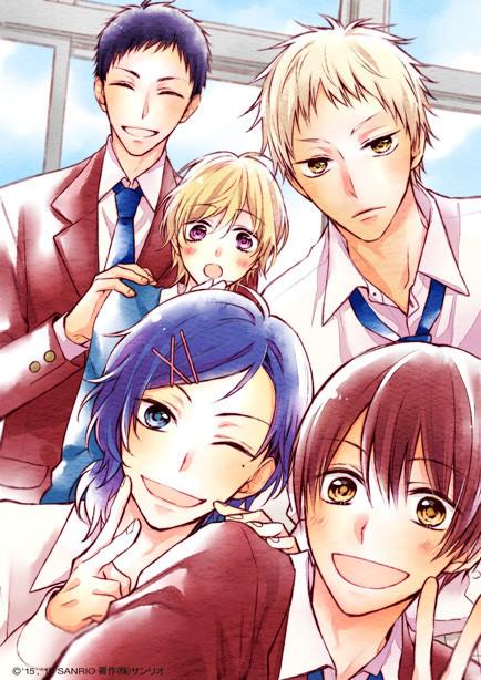 Cute Image Of Coincidence Wallpaper Sanrio Boys Project Gets Manga On Mangaone App Sho Comi