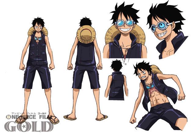 трейлер аниме One Piece Gold персонажи