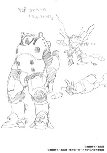 Kohei Horikoshi Reveals Original Character Designs For 2nd