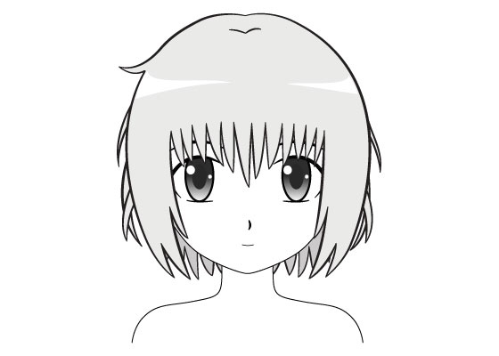 Anime Girl Nose Drawing Easy