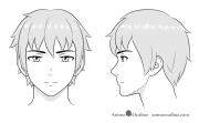 draw anime and manga male