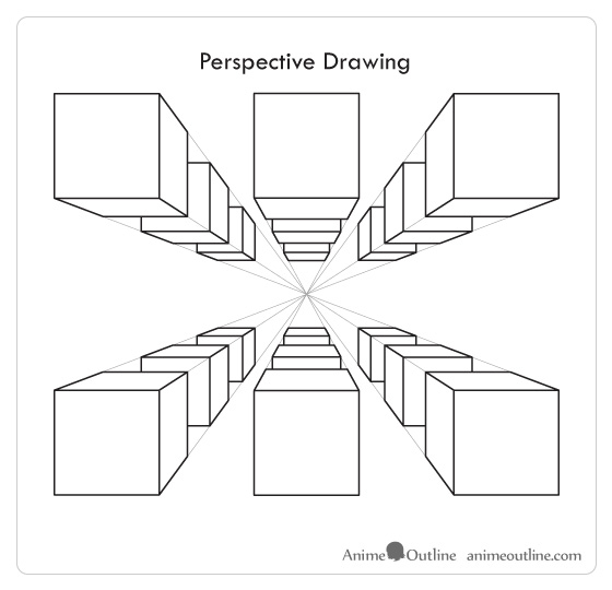 List of Synonyms and Antonyms of the Word: perspective drawing