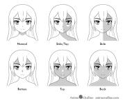 shade anime face