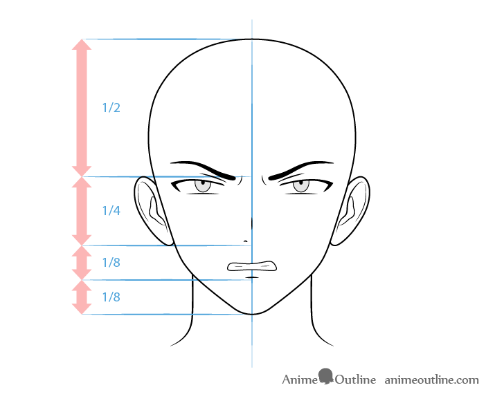 how to draw male