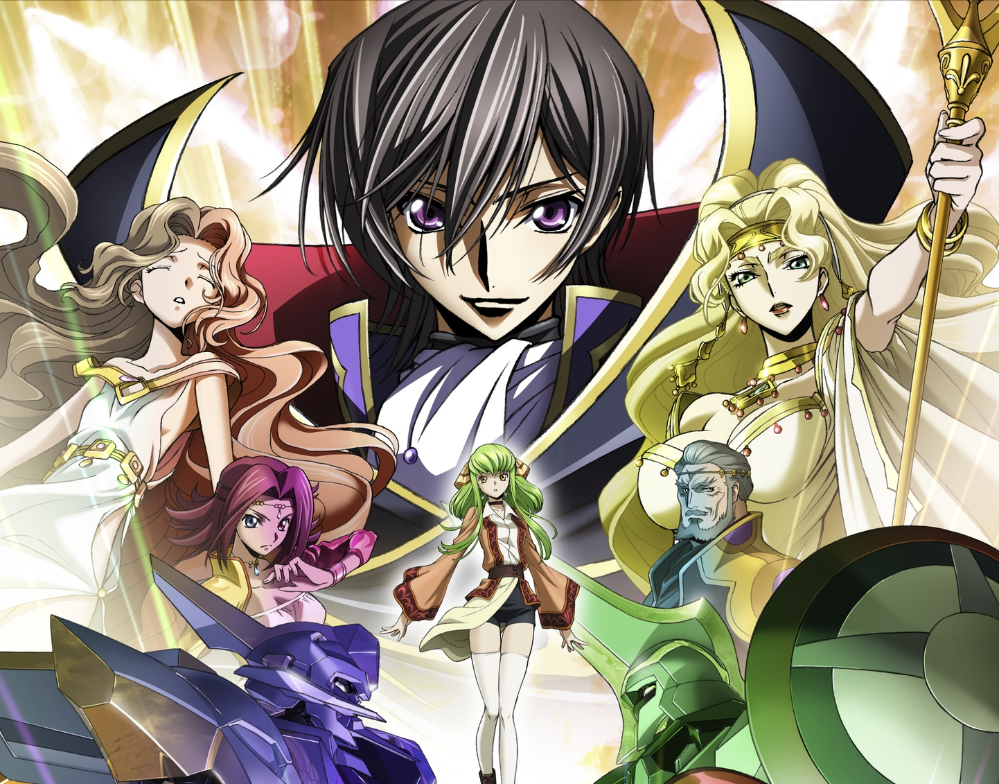 © SUNRISE / PROJECT L-GEASS Character Design ©2006-2018 CLAMP・ST