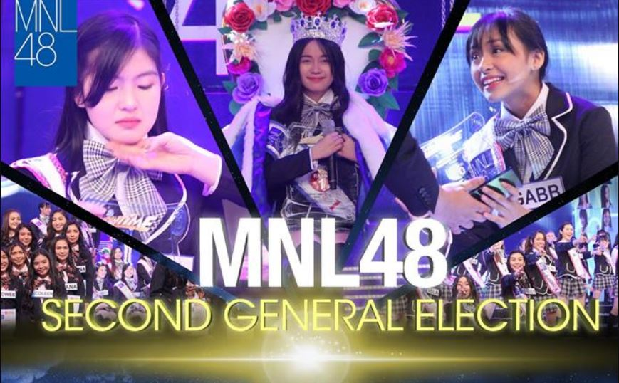 MNL48 Second General Election poster