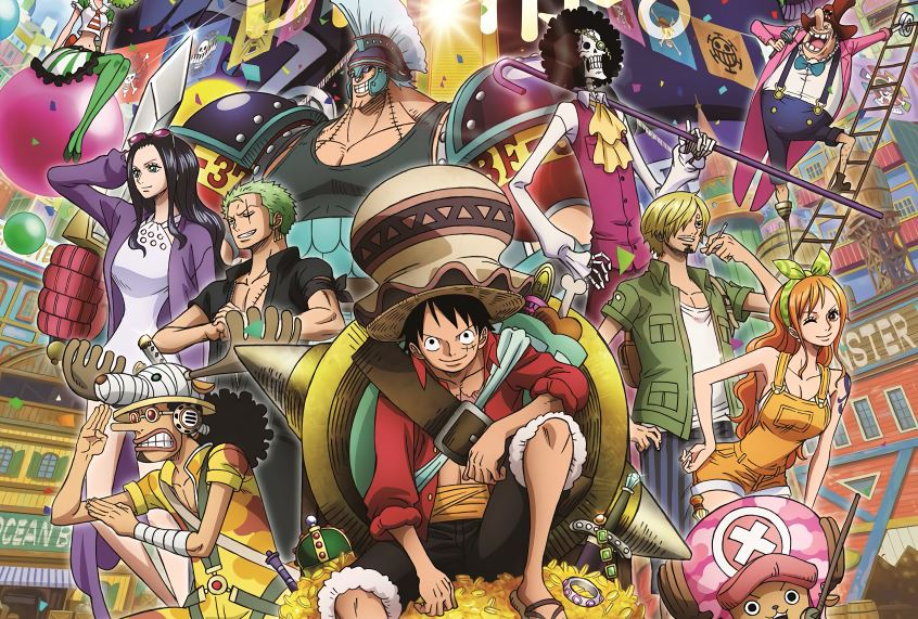 Key visual of the anime movie One Piece Stampede