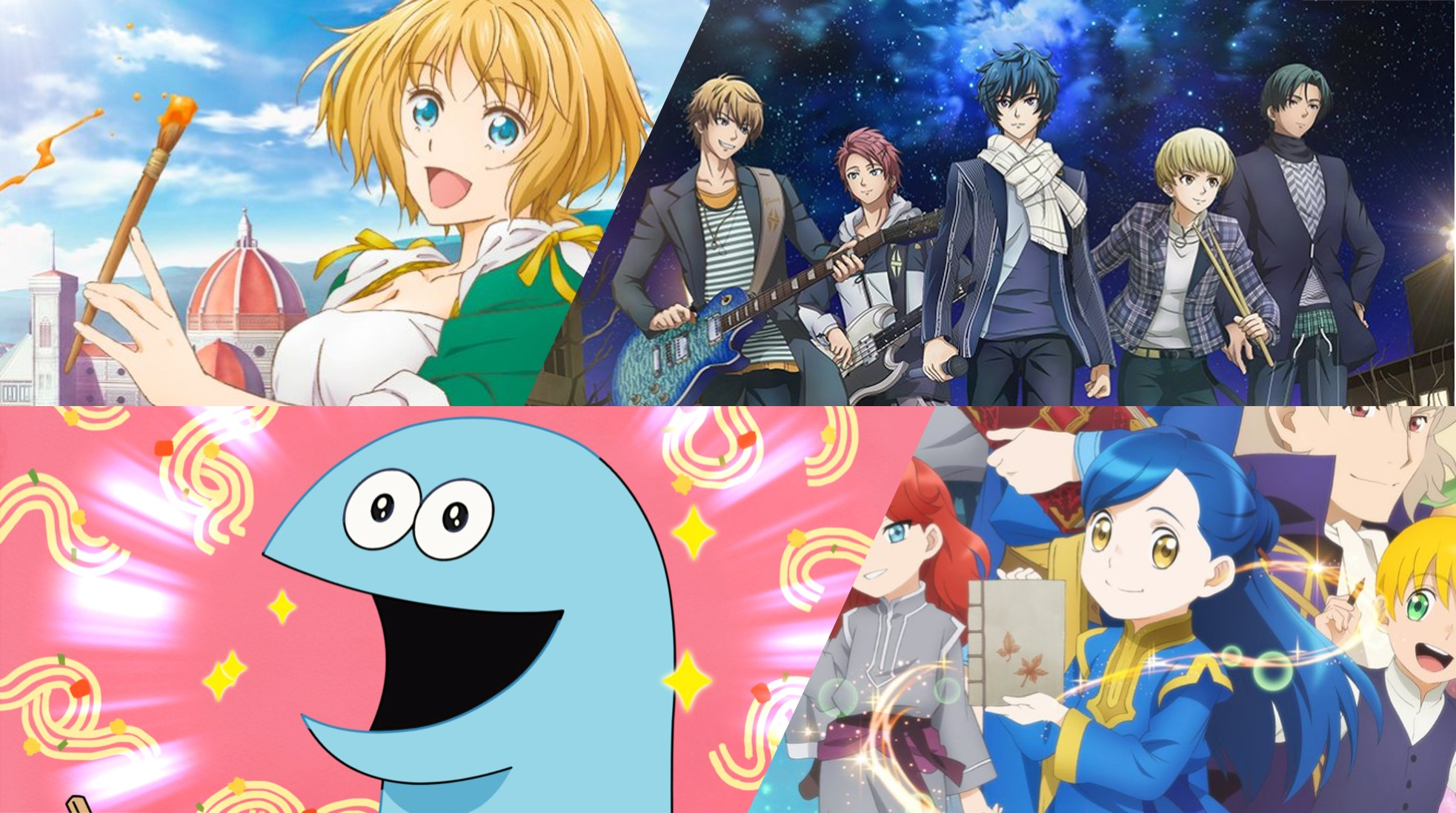 Muse Asia To Stream Ascendance Of A Bookworm S2 Arte More Titles For Spring 2020 Animeph