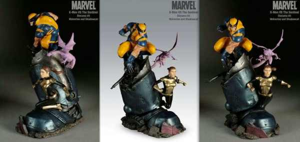 SIDESHOW XMen VS Sentinel No 3 Wolverine and