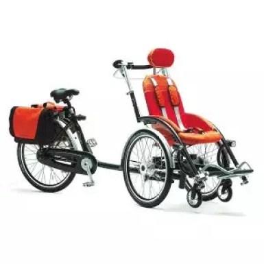 biciclette per disabili triciclo duetto