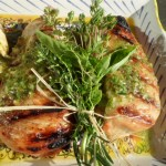 Grilled Chicken with Lemon and Fresh Herb Vinaigrette