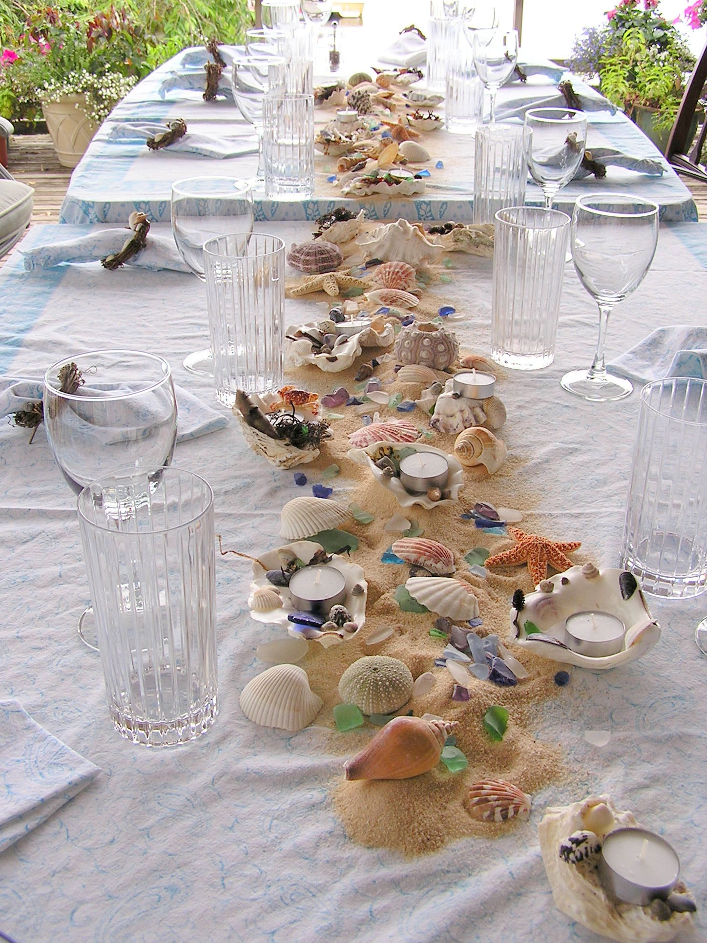 Beach Theme Table Decorations  An Inspired Kitchen