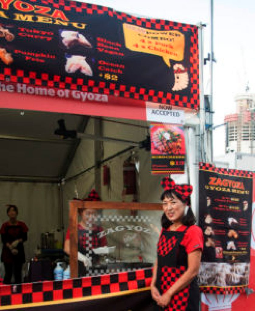 Zagyoza - House of Gyoza - Brisbane Night Noodle Market 2015 at South Bank, Brisbane QLD Australia