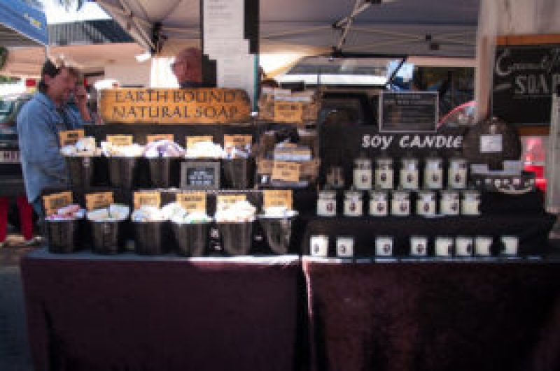 Earthbound Soy Candles at the Cleveland Markets, Brisbane QLD Australia 20150802-VPR00301.jpg