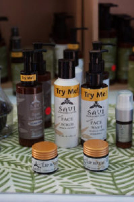 Savi Natural Products at the Cleveland Markets, Brisbane SE Australia