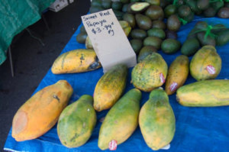 Sweet Red Papaya at the Cleveland Markets, Brisbane QLD Australia 20150802-VPR00324.jpg
