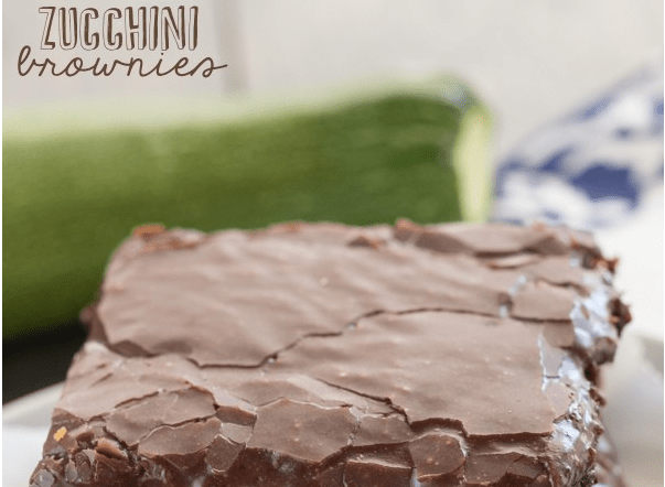 Recipe: Zucchini Brownies
