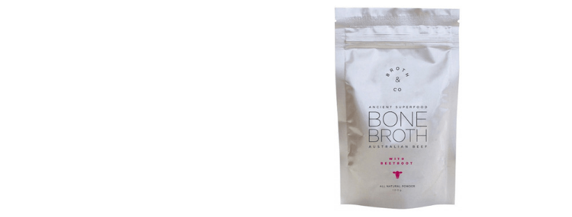 Australian Beef Bone Broth with Beetroot Powder Pouch