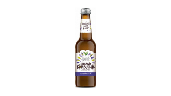 Good Earth Organic Kombucha Passionfruit & Lime