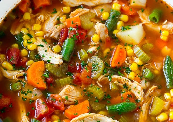 Recipe: Chicken and Vegetable Soup