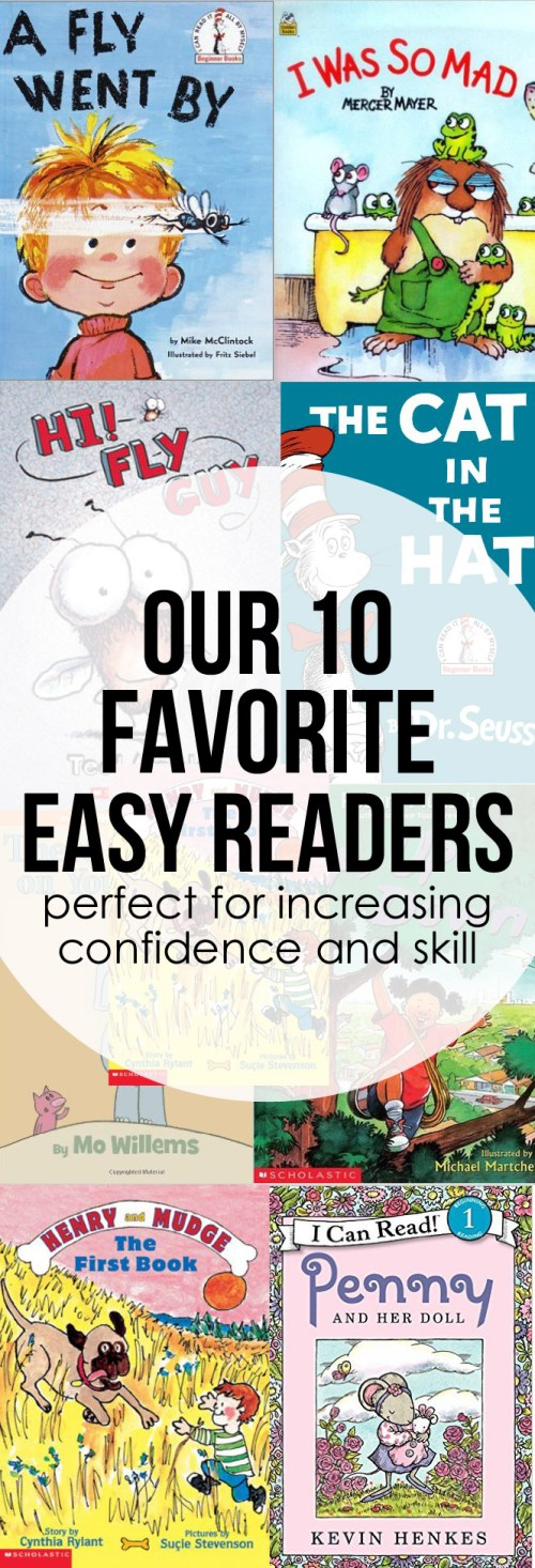Our Favorite Easy Readers