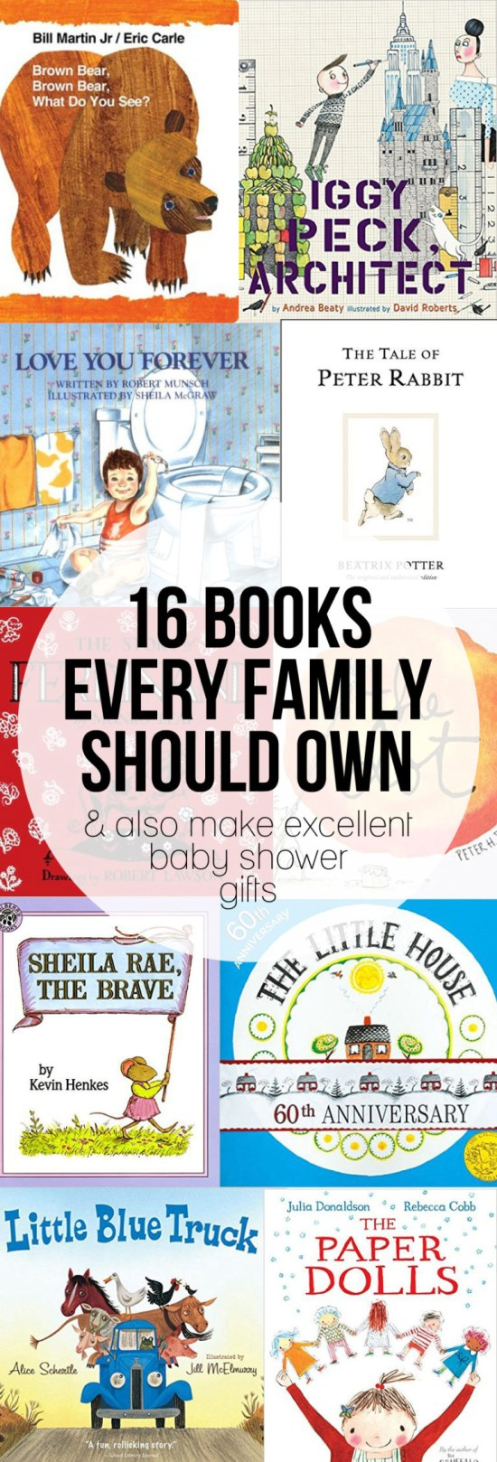 Picture Books that Every Family Should Own