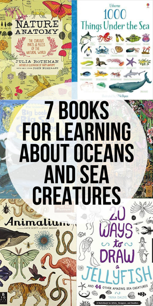 Books for Learning about Oceans and Sea Creatures
