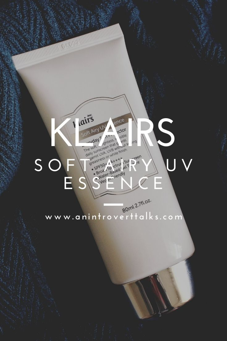 Klairs Soft Airy UV Essence Review