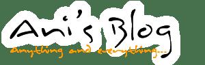 Ani's Blog