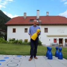 Dieter Mayr-Hassler vom Spiele- und Buchhotel, Foto Anita Arneitz