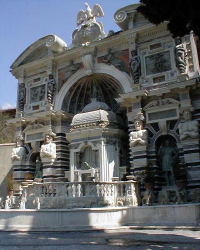 Fontana dell' organo villa d'este tivoli