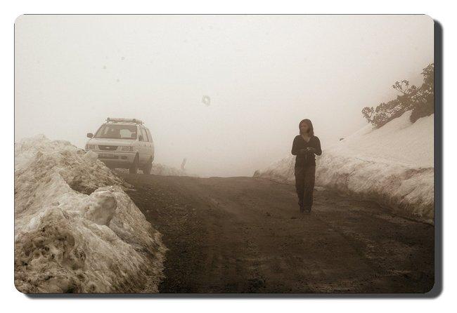 Misty day near Tawang