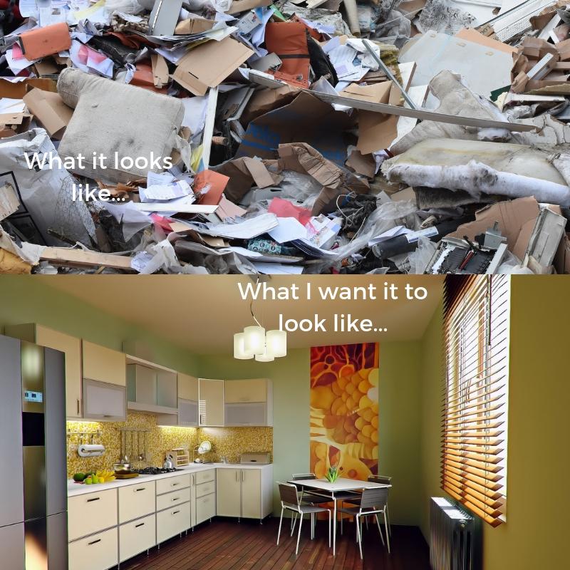 My dream vs reality!