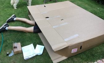 ideas for boosting children's resilience teenager in a big box
