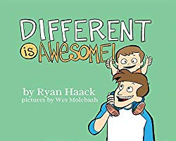 An example of children's books that celebrate diversity: Different is Awesome