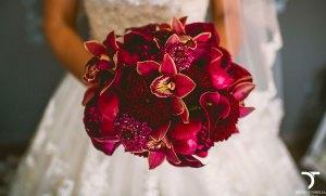 Bouquet matrimonio di orchidee