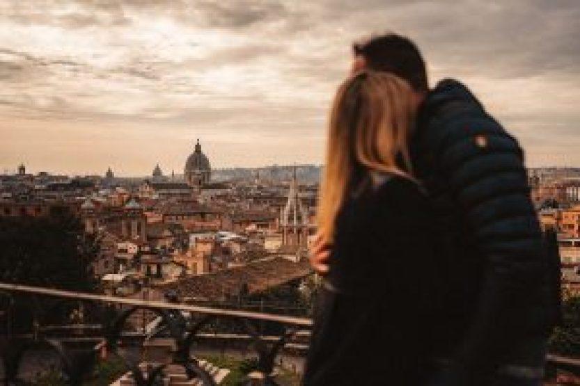 wedding proposal Roma